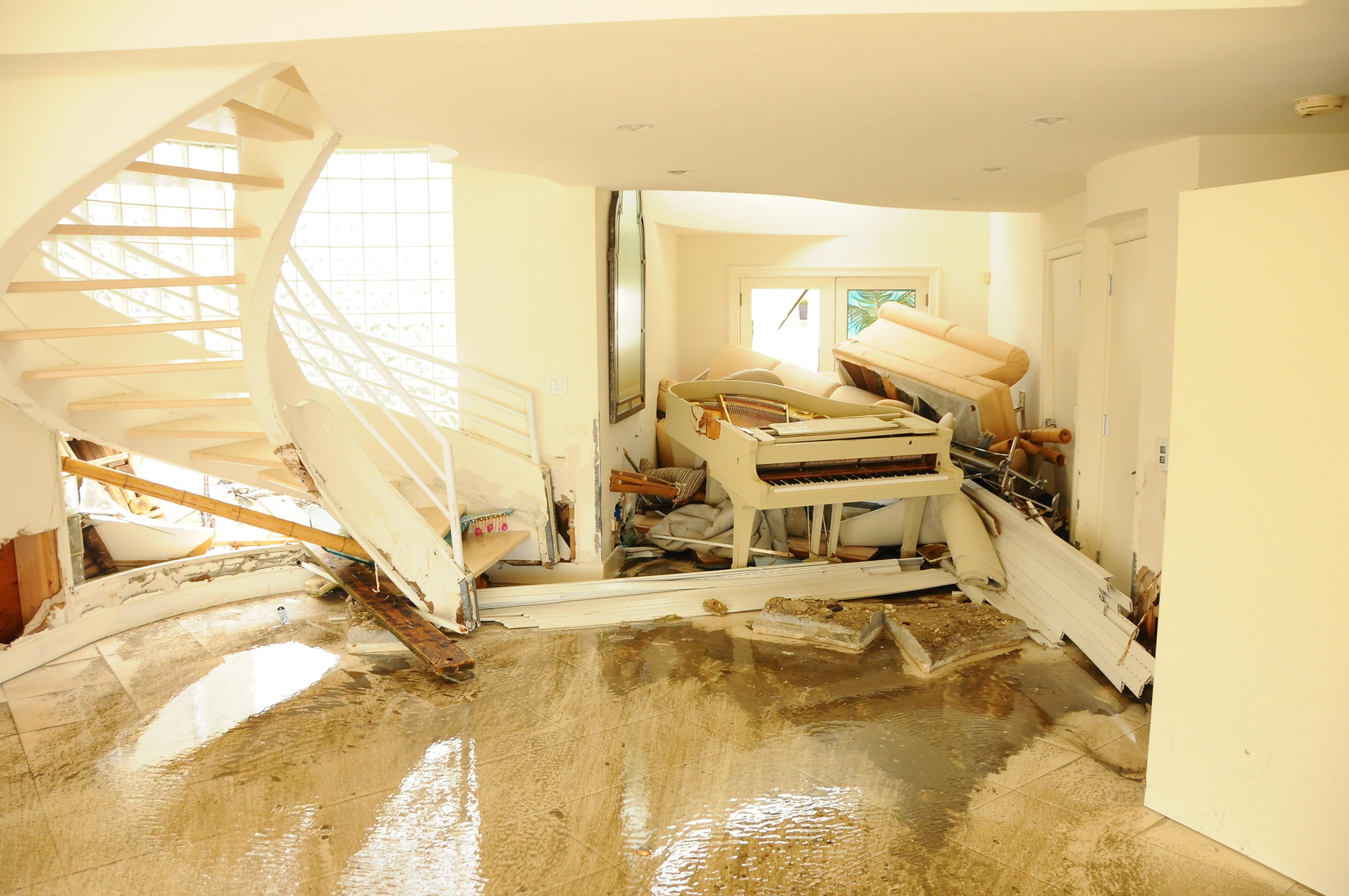 Prevent further damage in restoration