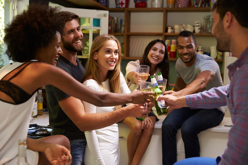How to throw a stressful housewarming party.